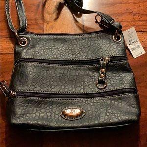 Rosetti multiple zip purse